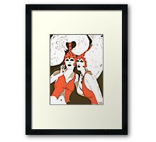 Flappers are Beautiful Women c 1920's Framed Print