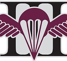 3 RAR Royal Australian Regiment Battalion Wings silver Anzac 2015 by AnzacMascots