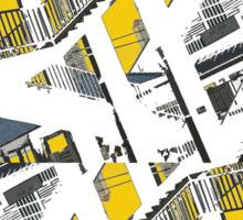 urban stairs 2 Sticker