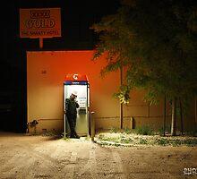 Telephone Booth 553 In Wagga Wagga by Joseph Darmenia