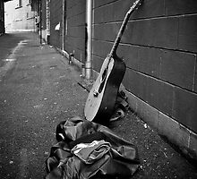 Lonely Guitar by Daniel Bullock
