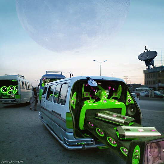 Ultra Cool Customized Pakistani Deep Bass Boom Music Hover rides by Kenny Irwin