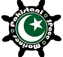 Pakistani Space Marines Badge by Kenny Irwin