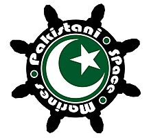 Pakistani Space Marines Badge Photographic Print