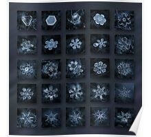 Snowflake collage - Season 2013 dark crystals Poster