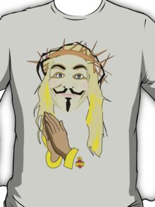 jesus supports anonymous T-Shirt