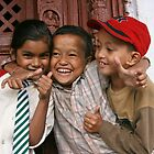 Children of Nepal - Laughter by rochelle