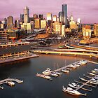 Melbourne Docklands ~ Photographs by Roz McQuillan by Roz McQuillan