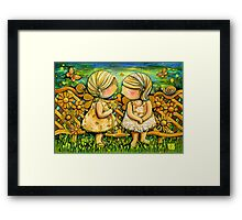One Spring Day Framed Print