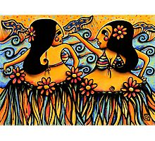 Whale Dancers Photographic Print
