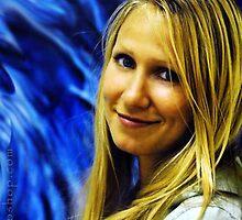 Blue Background by artsphotoshop