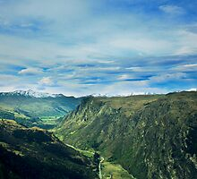 Surrounding Mountains In Queenstown by Luke and Katie Thurlby