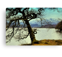 Loch Venachar Canvas Print