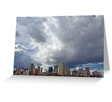 Capital City Storm Greeting Card