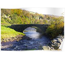 Stone Bridge at Keld,Yorkshire Dales. Poster