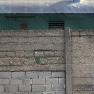 Another Hole in the Wall (and a Green Train) by hynek