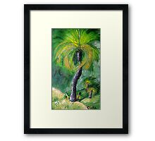 Grass Trees 2 Framed Print
