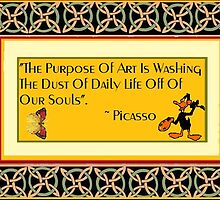 A Picasso Quote on Art by Thomas Josiah Chappelle