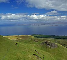 View From Old Man of Storr, Isle of Skye, Scotland by ludek