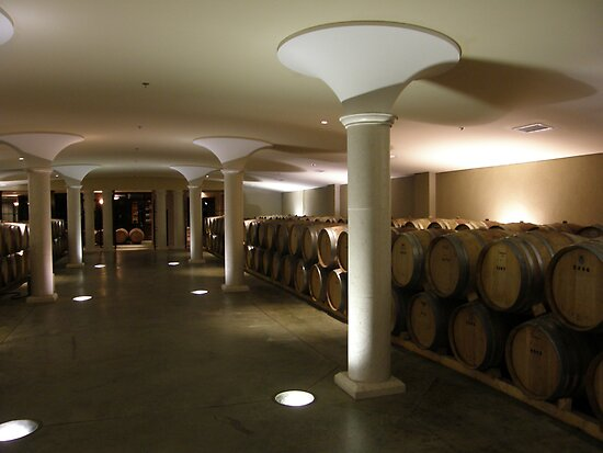Inside the Tasting Cellar by Luann Gingras