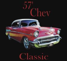 57 Chev Belair Classic by 1StopPrints