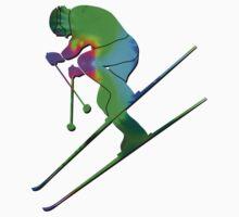 Tie-Dye Skier Kids Clothes