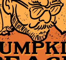Professor Fussy's Pumpkin Peach Ale Sticker