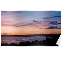 9 Mile Sunset Poster