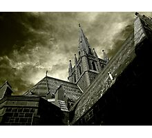 St Mary of the Angels - Standing Against Satan #1 Photographic Print