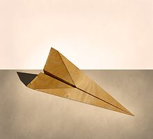 Paper Airplanes of Wood 15 by YoPedro