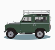 1963 Series 2a Landrover Kids Clothes