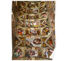 Sistine Chapel Poster