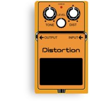 Distortion Canvas Print