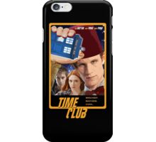 Time Club   Doctor Who   The Eleventh Doctor & Amy Pond & Rory Pond   Fez iPhone Case/Skin