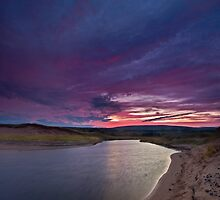 Inverness Beach River Sunrise by EvaMcDermott
