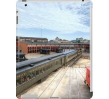 New Jersey Central Enters The Steamtown Roundhouse iPad Case/Skin