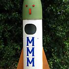 Rocket Mailbox by Marilyn Harris