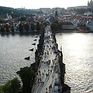 King Charles Bridge Prague - Czech Republic by darrenjc