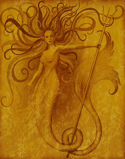 Yellow siren by Ivy Izzard