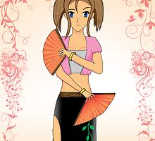 Anime girl by artgirl99