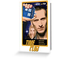 Time Club   Doctor Who   The Ninth Doctor & Rose Tyler Greeting Card