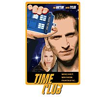 Time Club | Doctor Who | The Ninth Doctor & Rose Tyler Photographic Print