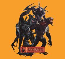 Evolve Monster by BlazeSeven