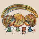 A Rainbow of Angels TShirt by © Karin  Taylor