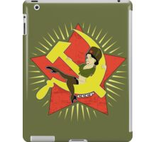 CCCP Pinup iPad Case/Skin