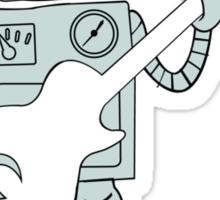 Guitar Robot Sticker