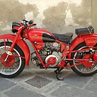 "Guzzi ""Gambalunga"" by Dick Pountain"