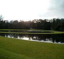 Fountains Abbey - the water gardens by dougie1