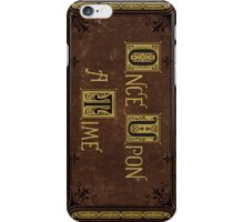 Henry's Book - Once Upon a Time Phone Case iPhone Case/Skin