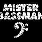 MISTER BASSMAN Vintage White by theshirtshops